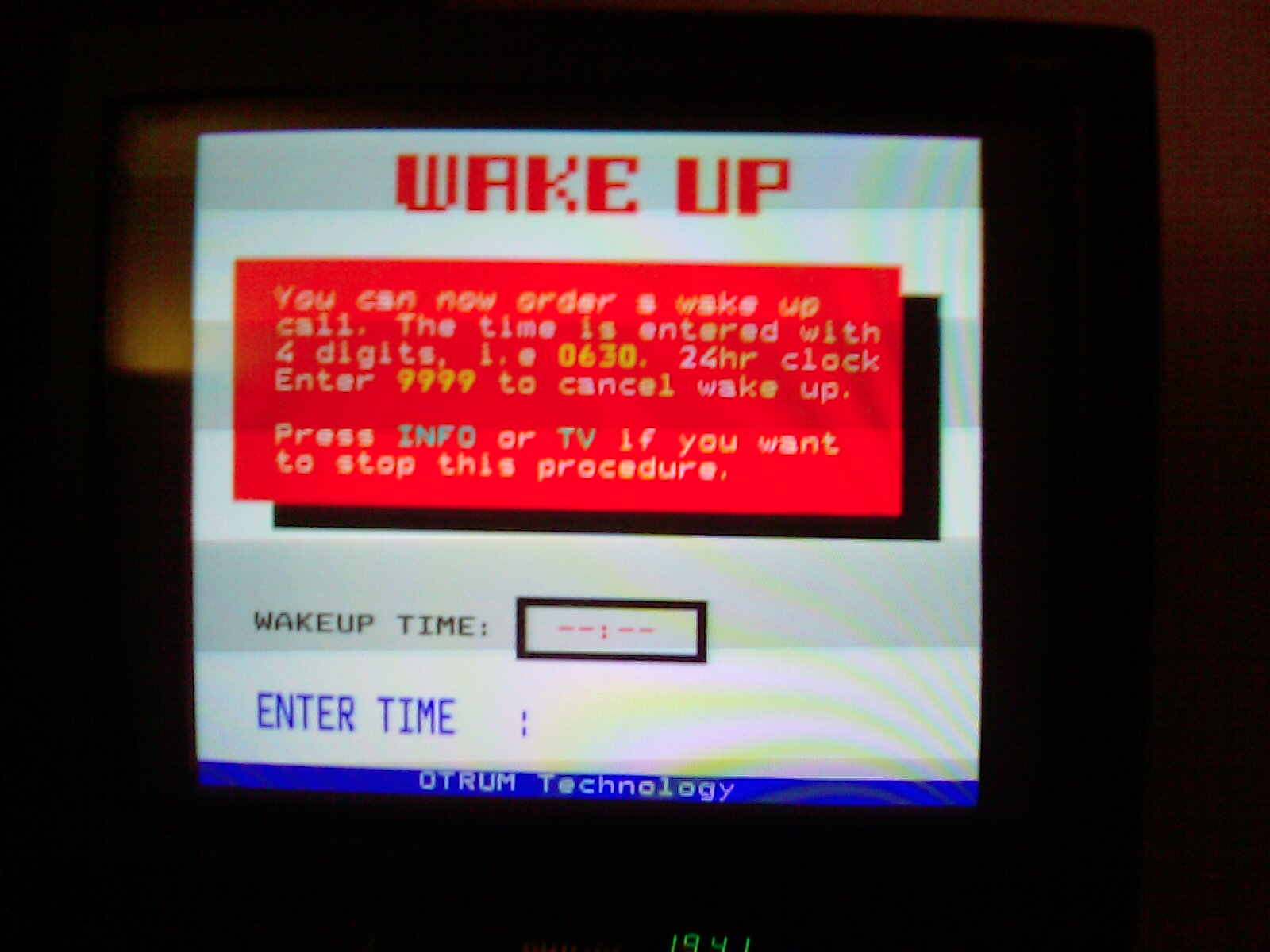 wake up tv app